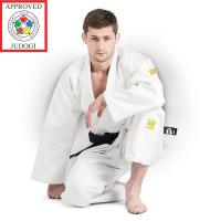 JSPT-10361 Кимоно дзюдо PROFESSIONAL GOLD IJF APPROVED 155см белое